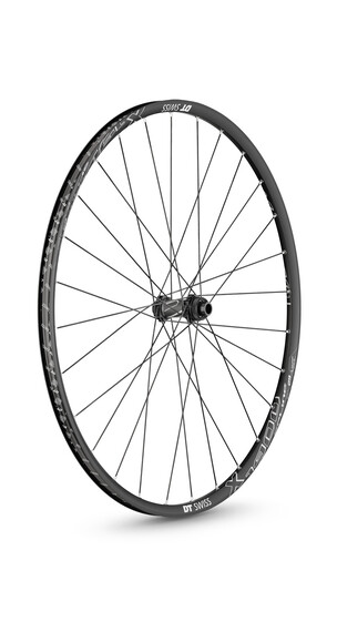 "DT Swiss X 1900 Spline hjul 29"" forhjul alu 100/15 mm sort"